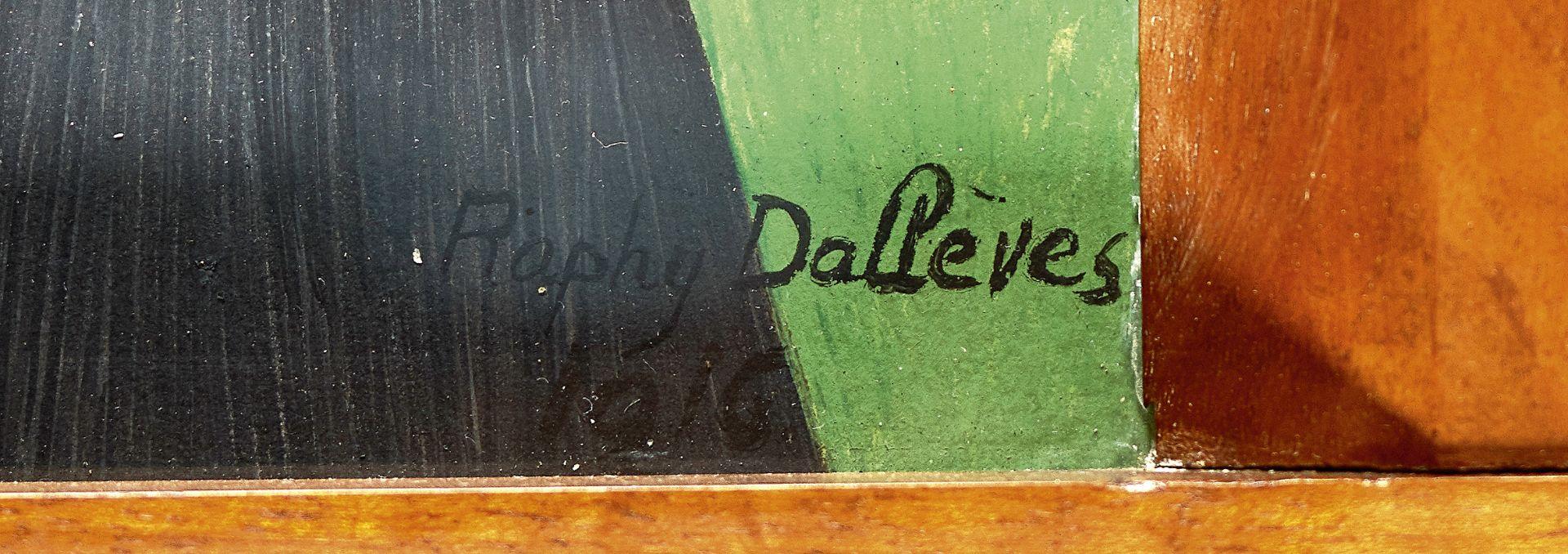 DALLÈVES, RAPHY: Portrait d'une valaisanne. - Image 3 of 4