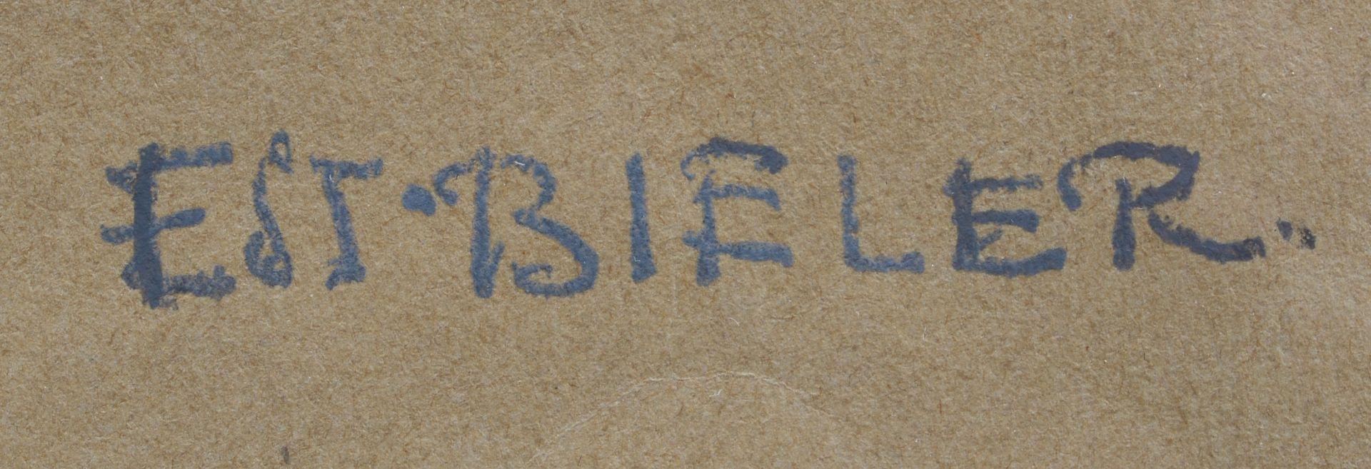 BIÉLER, ERNEST: Gerbes de blé. - Image 3 of 3