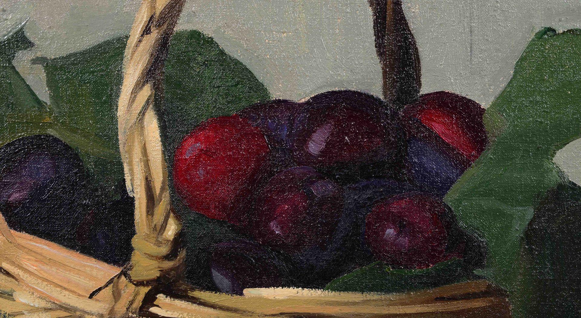 "VALLOTTON, FÉLIX: ""Panier de prunes"". - Image 7 of 9"