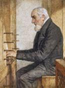 ANKER, ALBERT: Der Organist.