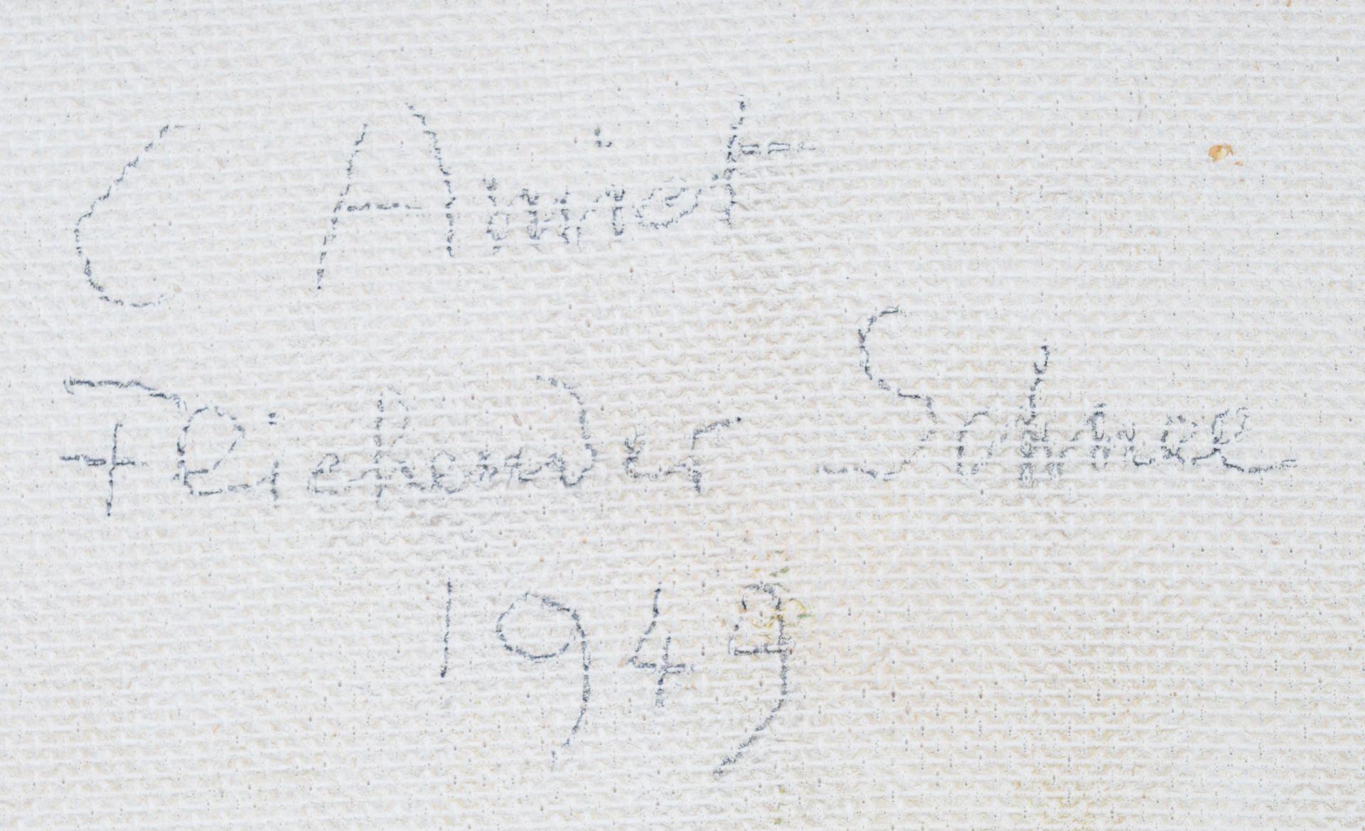 """AMIET, CUNO: """"Fliehender Schnee"""". - Image 7 of 7"""