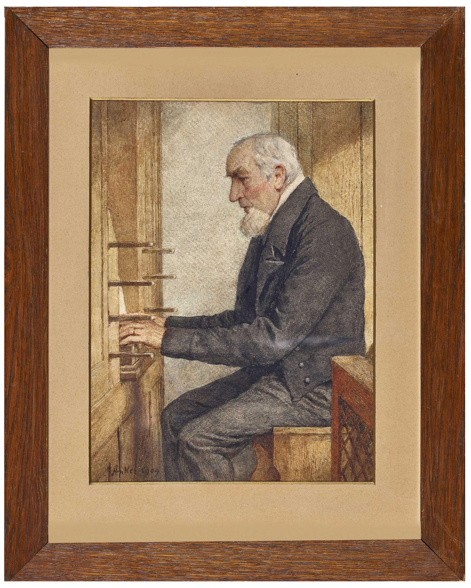 ANKER, ALBERT: Der Organist. - Image 2 of 6