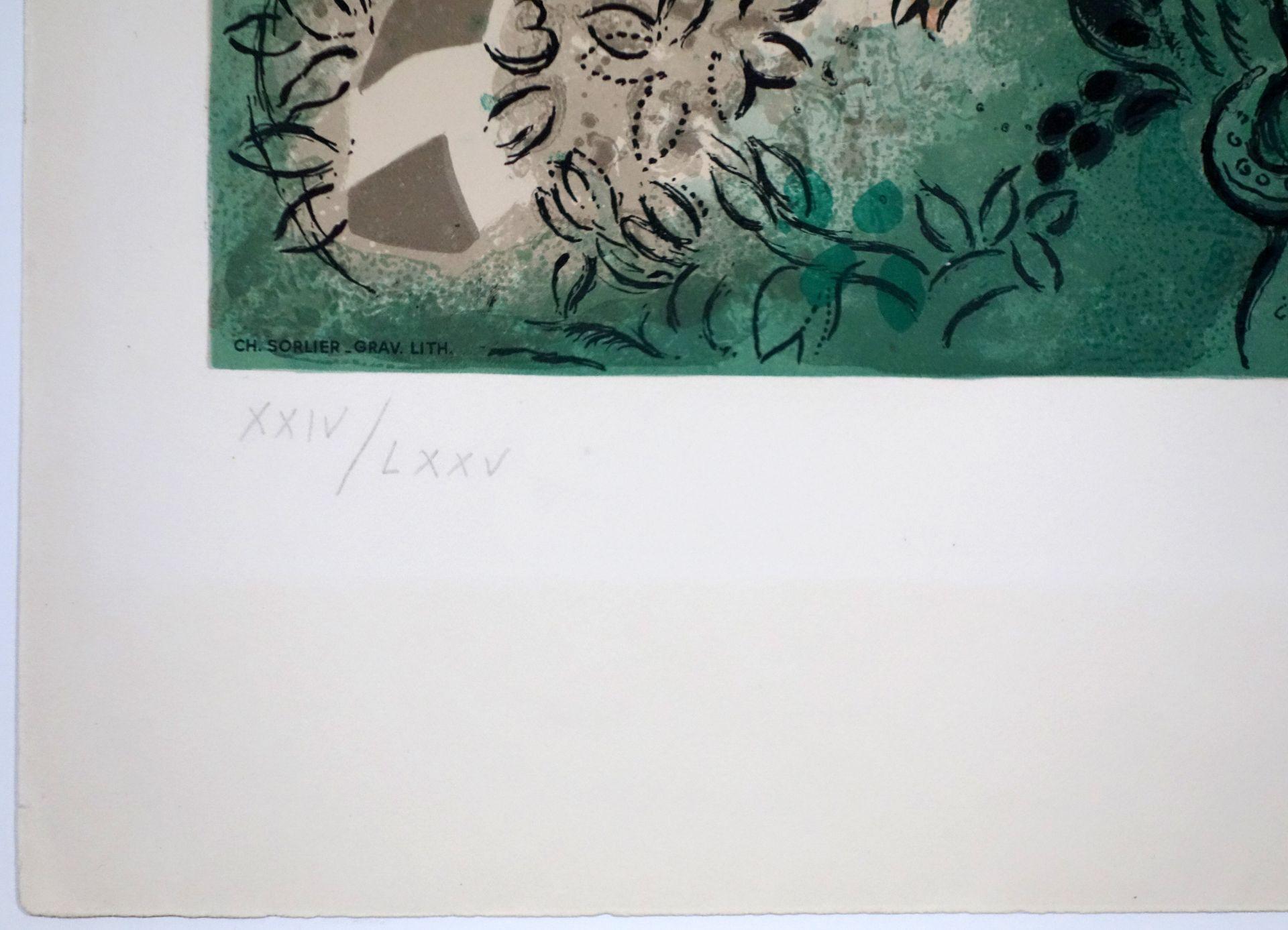 Marc Chagall (1887–1985) Der Stamm Gad (1964) - Bild 4 aus 5