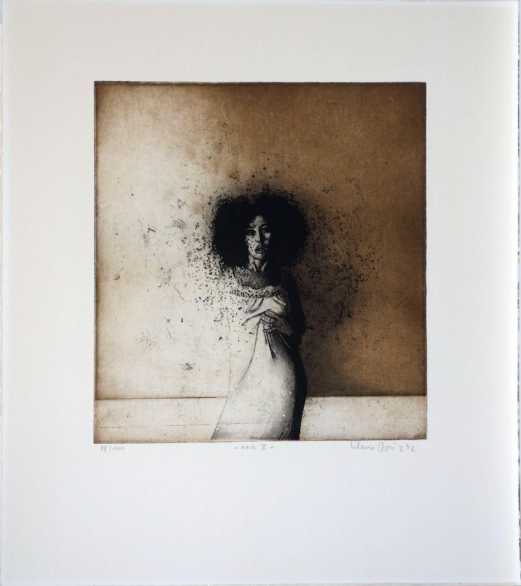 Klaus Böttger (1942–1992) Hair IV (1971)/Hair V (1972) - Bild 2 aus 2