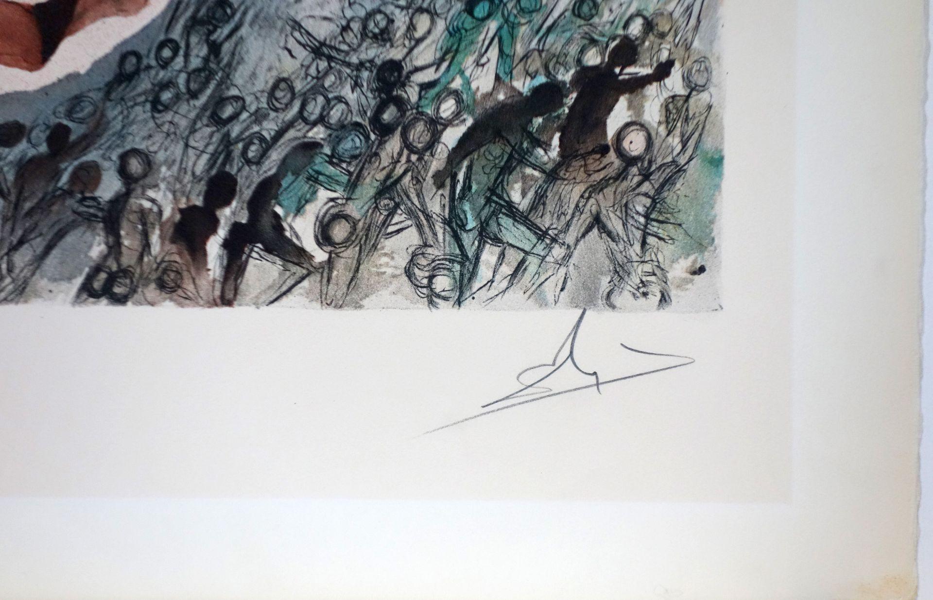 Salvador Dali (1904–1989) An den Ufern der Freiheit (1968) - Bild 2 aus 3