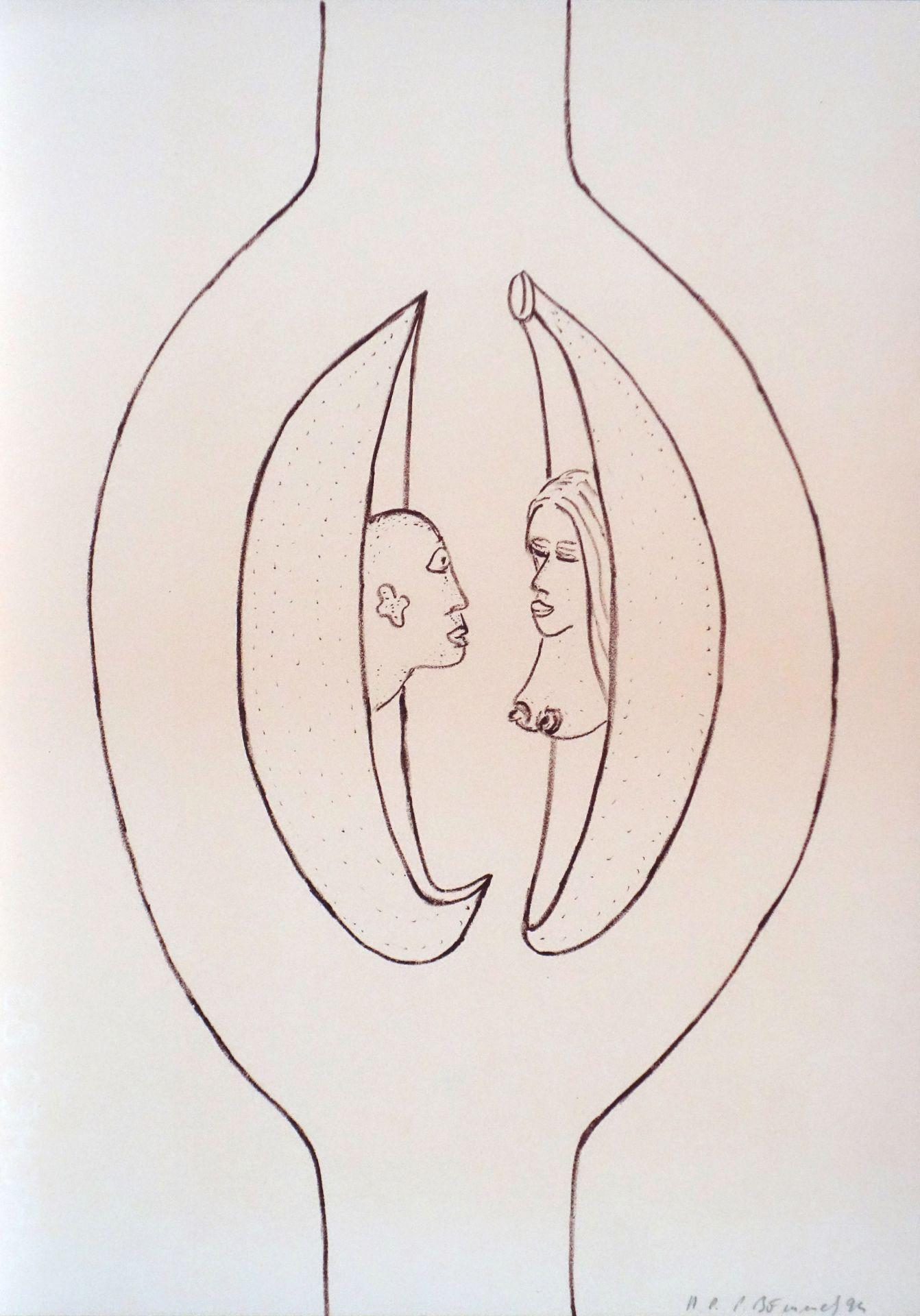 Peter Bömmels (*1951) Ohne Titel (1994) - Bild 2 aus 2