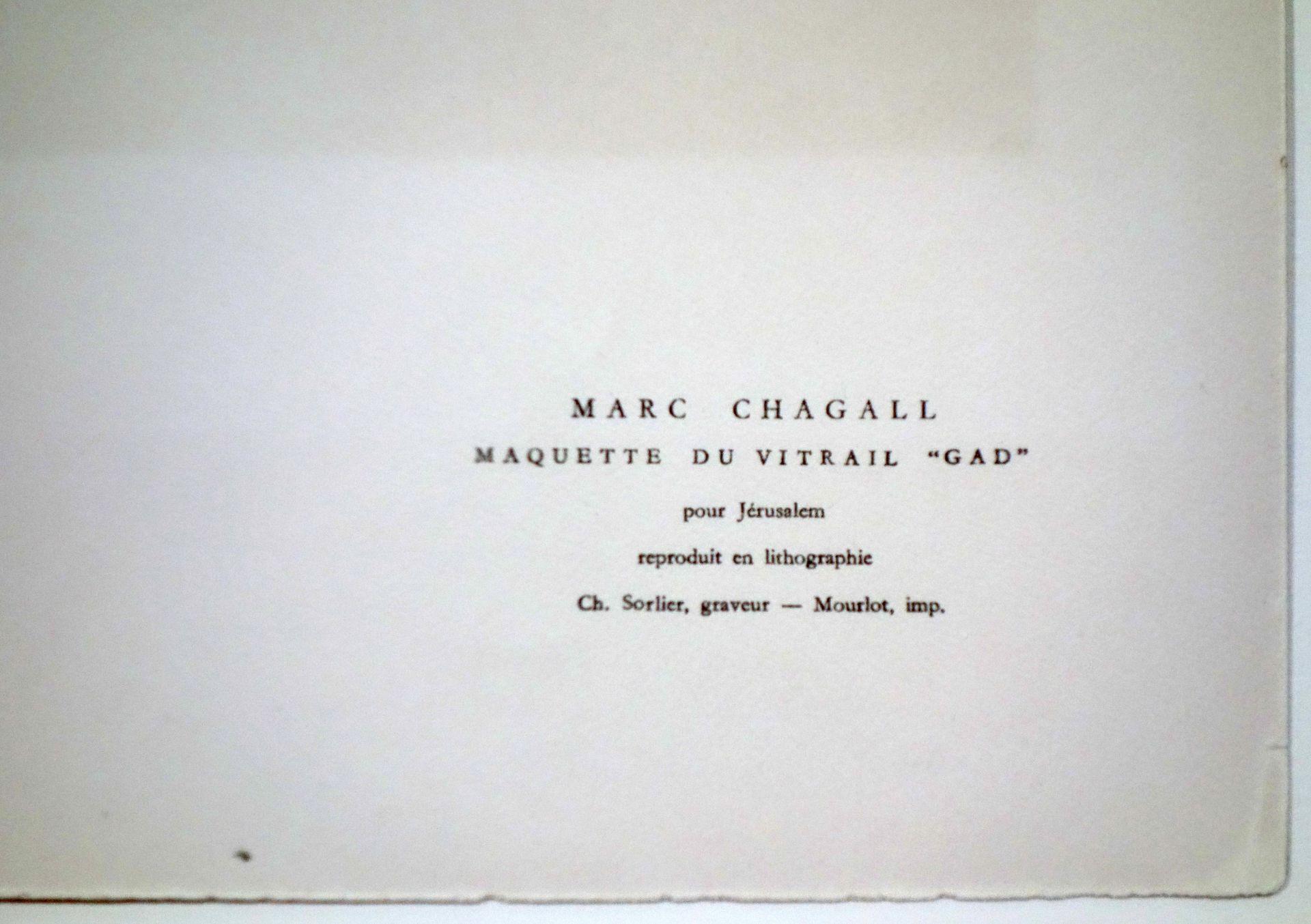 Marc Chagall (1887–1985) Der Stamm Gad (1964) - Bild 5 aus 5