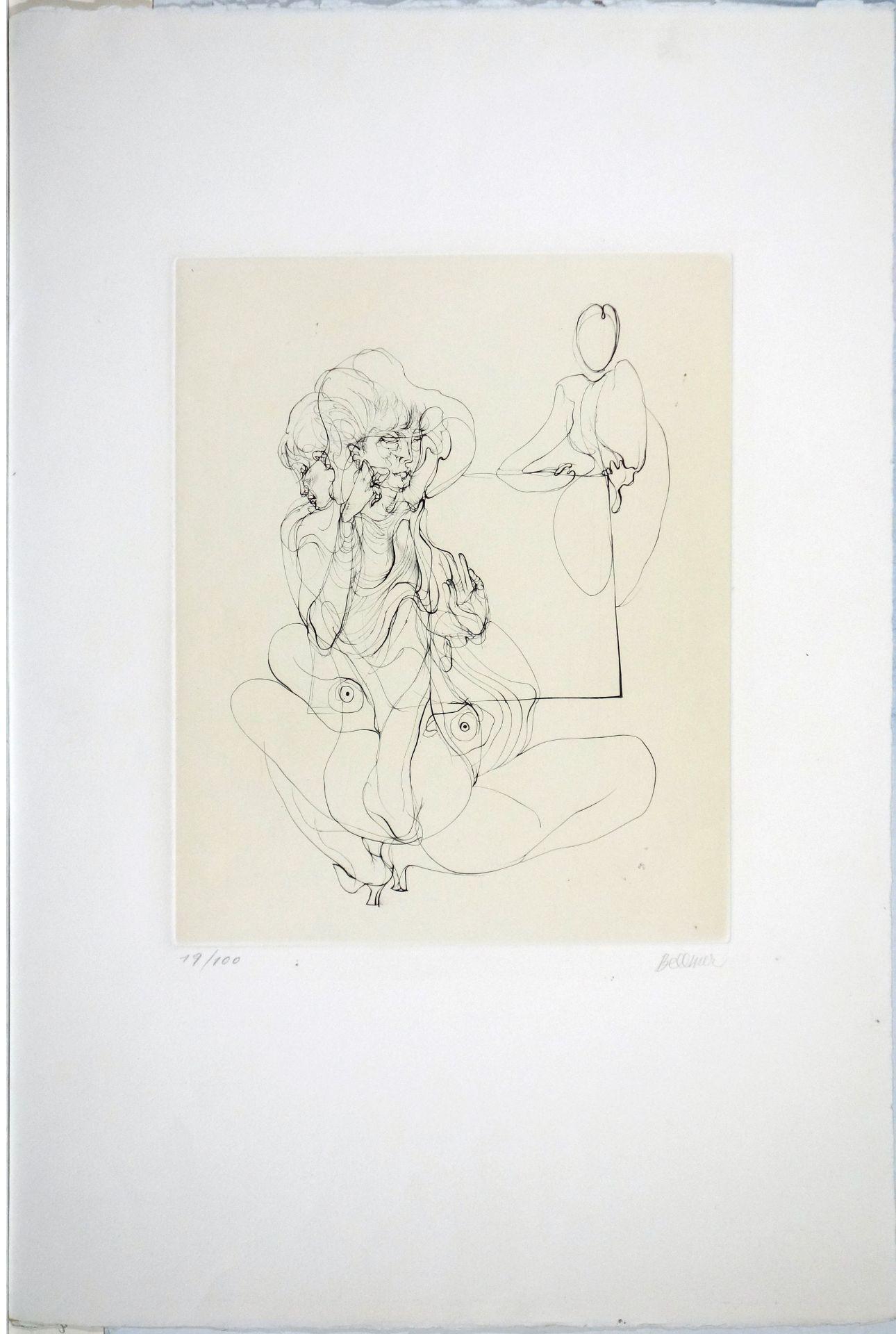 Hans Bellmer (1902–1975) La table parlante (1972)