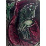 Marc Chagall (1887–1985) Hiob in der Verzweiflung (1960)