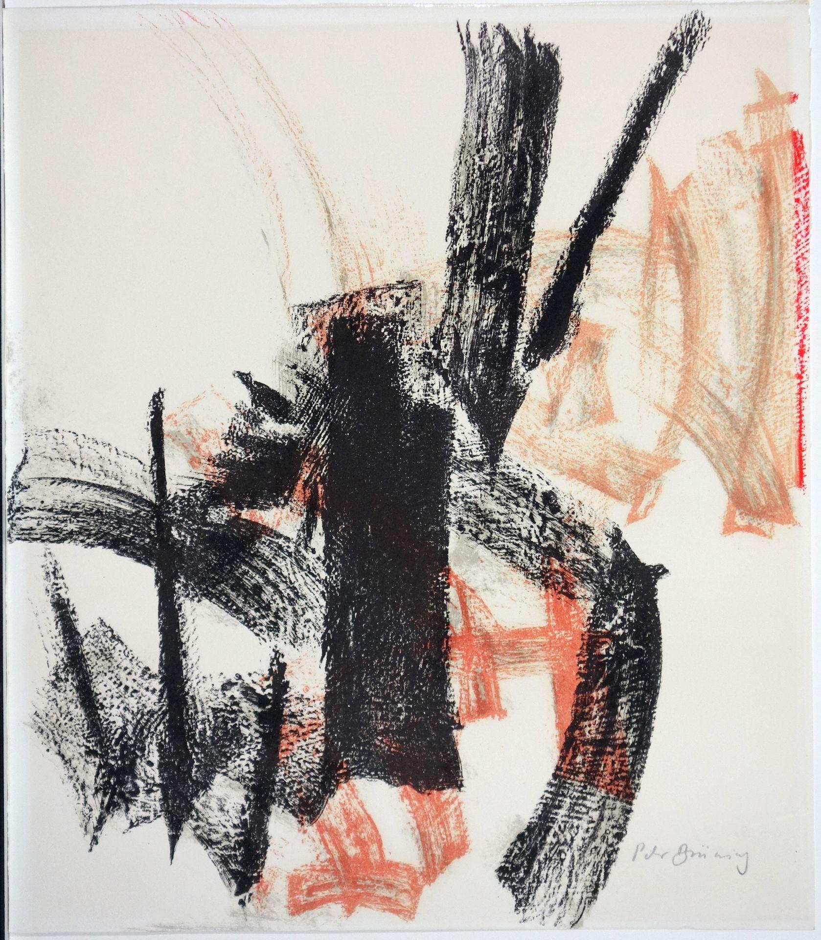 Peter Brüning (1929–1970) Ohne Titel (1956)