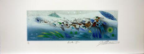 Georges Dussau (*1947) Aube I, Aube II, Aube III