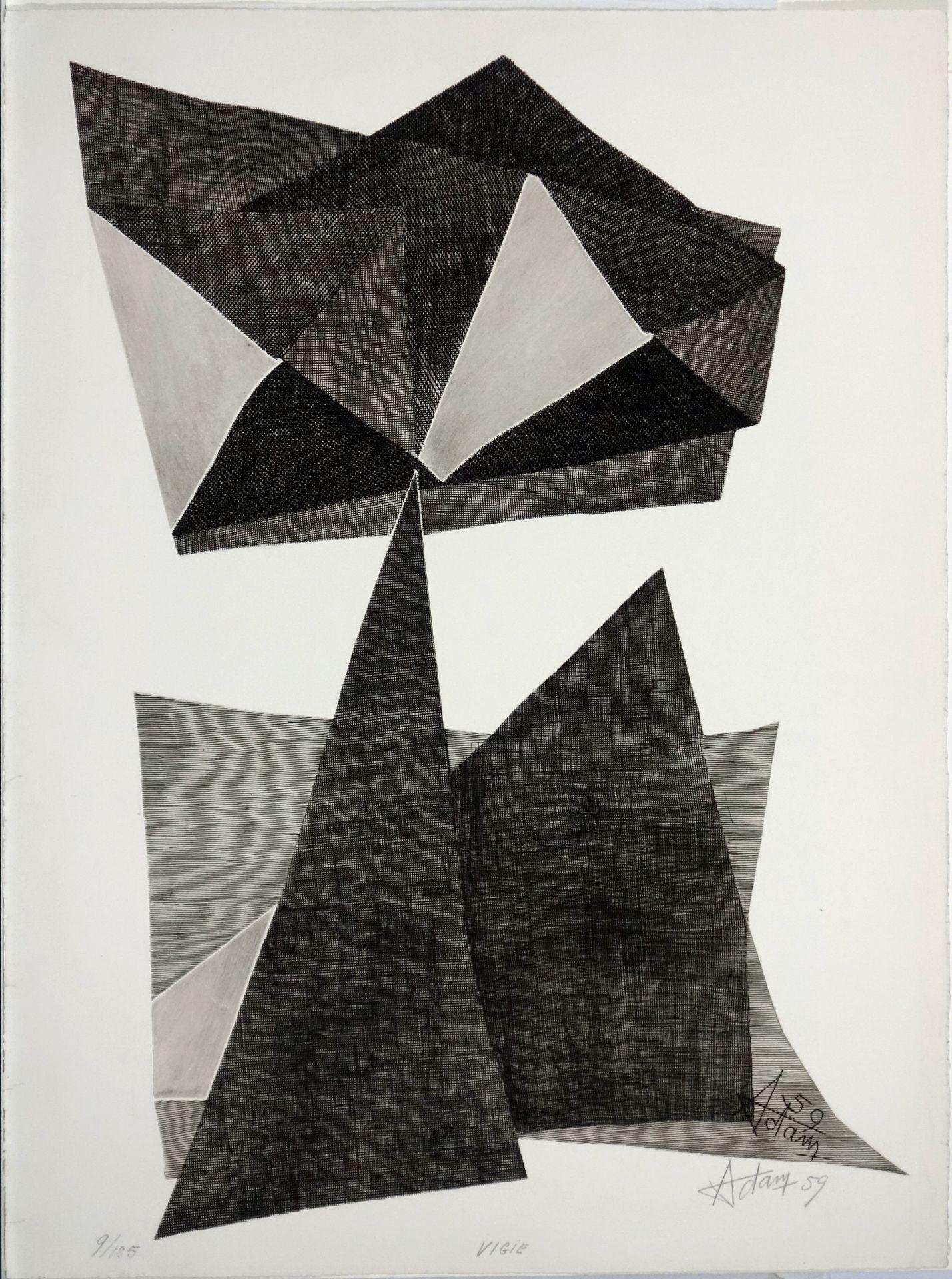 Henri-Georges Adam (1904–1967) Vigie (1959)