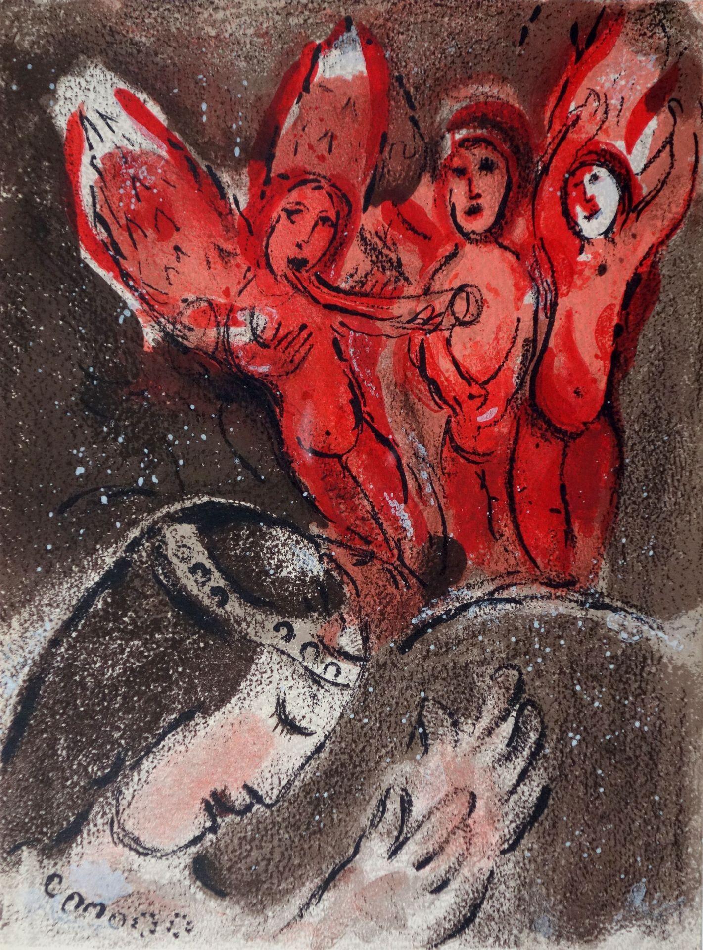 Marc Chagall (1887–1985) Sarah und der Engel (1960)