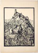 Fritz Bleyl (1880–1966) Schloß Gössweinstein (Fränk. Schweiz) (1921)