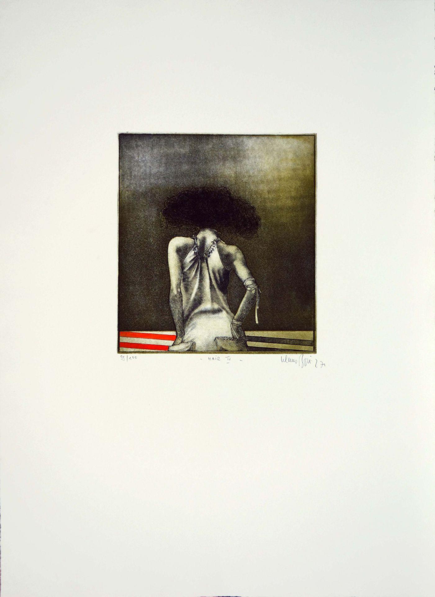 Klaus Böttger (1942–1992) Hair IV (1971)/Hair V (1972)