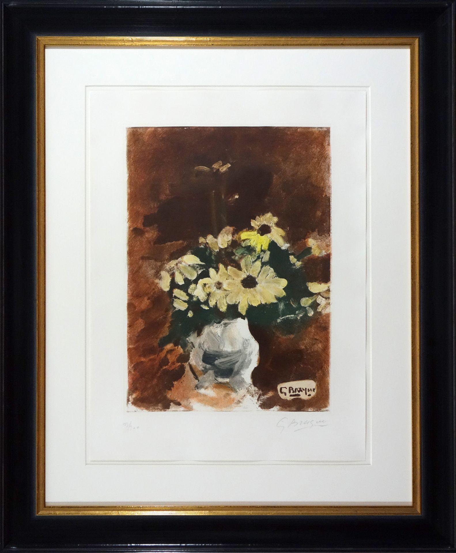 Georges Braque (1882–1963) Vase de fleurs jaunes (1950) - Bild 2 aus 4