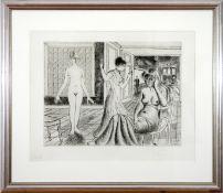Paul Delvaux (1897–1994) La chambre (1969)