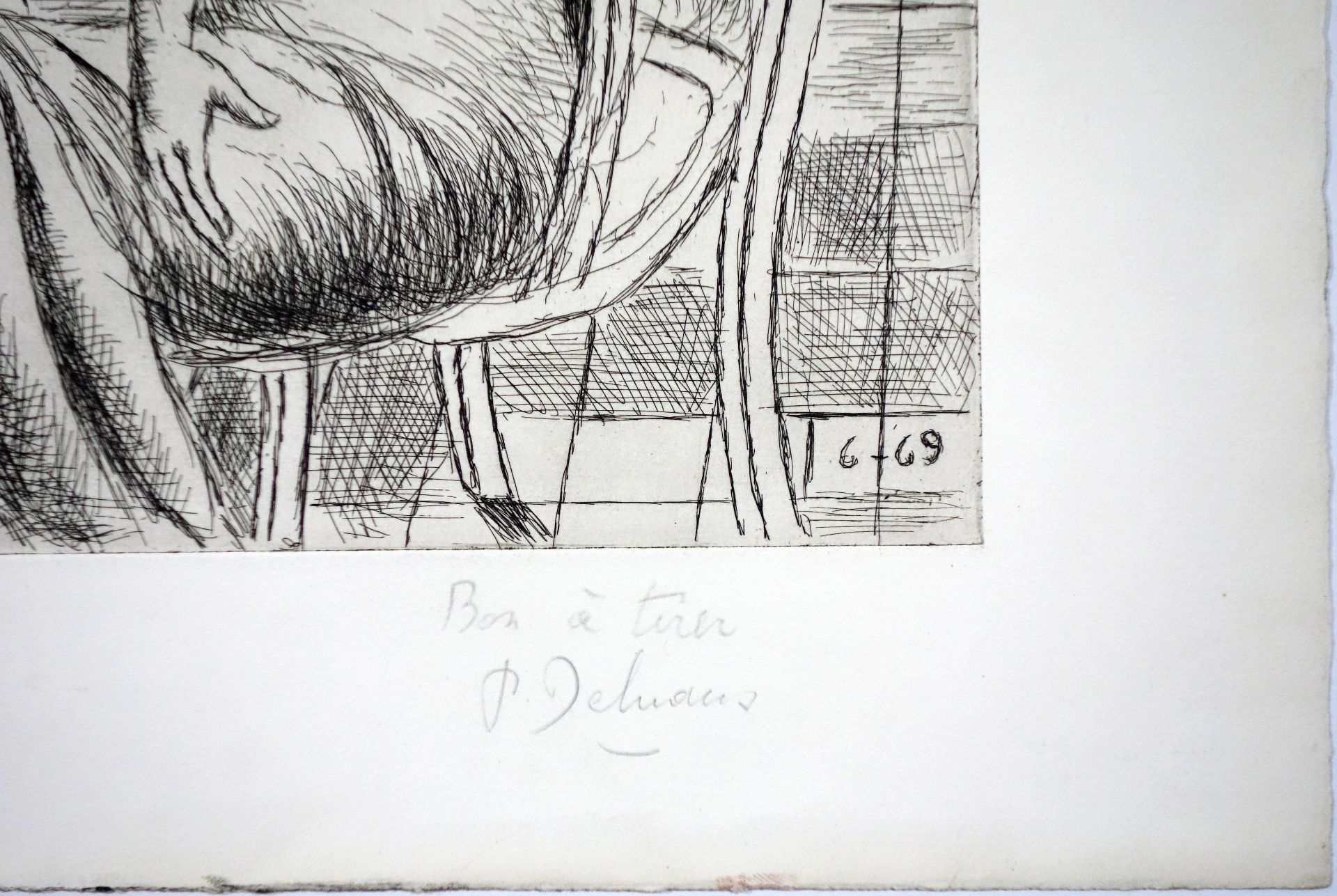 Paul Delvaux (1897–1994) La chambre (1969) - Bild 3 aus 4
