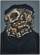 "Siebdruck (4-Farbdruck)Antonio Saura 1930 Huesca - 1998 Cuenca ""Goya"" 1969 u. re. sign. Saura u."