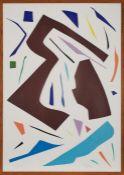 """Siebdruck Imi Knoebelgeb. 1940 Dessau """"o.T."""" 1993 u. re. sign. Imi 93 Exemplar 12/130, 99 x 68,7"""