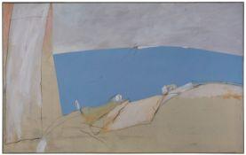 """Gemälde Karl Bohrmann1928 Mannheim - 1998 Köln """"o.T."""" u. li. dat. 1.12.82 Öl/Lwd., 187 x 300 cm"""