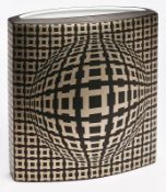 "Vase ""Vega"", Op Art, Rosenthal studio"