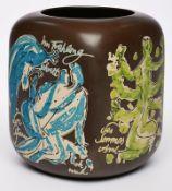 """Jubiläums-Vase """"Vier Jahreszeiten"""","""