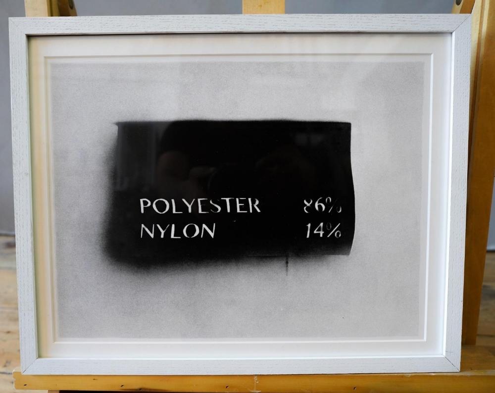 CHRISTOPHER EVANS POLYESTER 86 & NYLON 14% , 2014 LITHOGRAPH 6/80 (42cm wide, 28cm high)