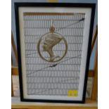 CHARLOTTE PRODGER 'BATS, HONEYCOMB, NEFERTITI', 2014 LITHOGRAPH 7/80 28cm wide, 48cm high)