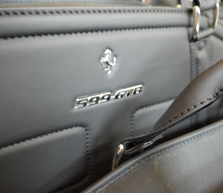 FERRARI 599GTB LUGGAGE SET BY SCHEDONI a beautiful four piece luggage by Schedoni for the Ferrari - Image 2 of 6