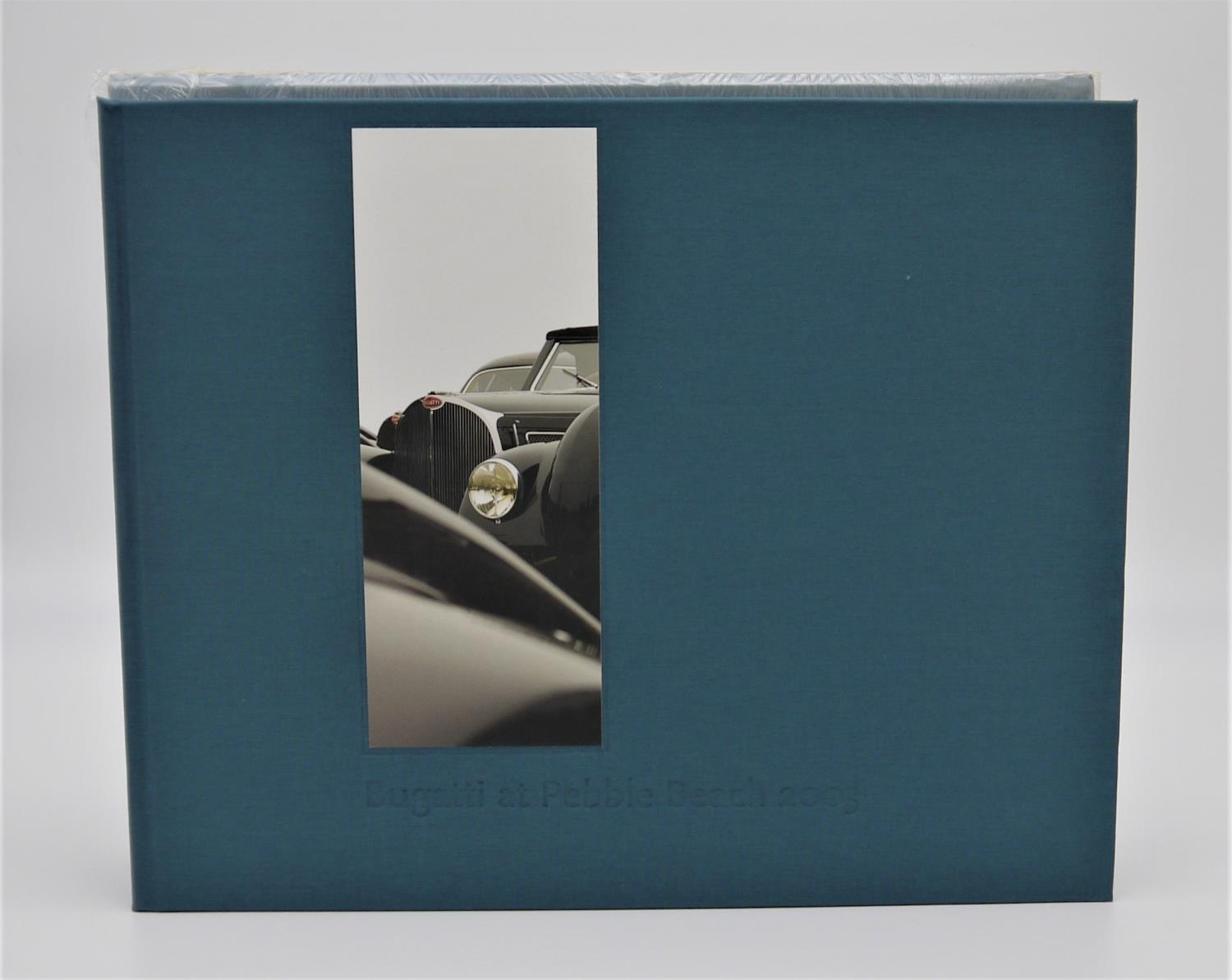BUGATTI AUTOMOBILES: BUGATTI AT PEBBLE BEACH 2003 with numerous photographs, this book details the - Image 2 of 2
