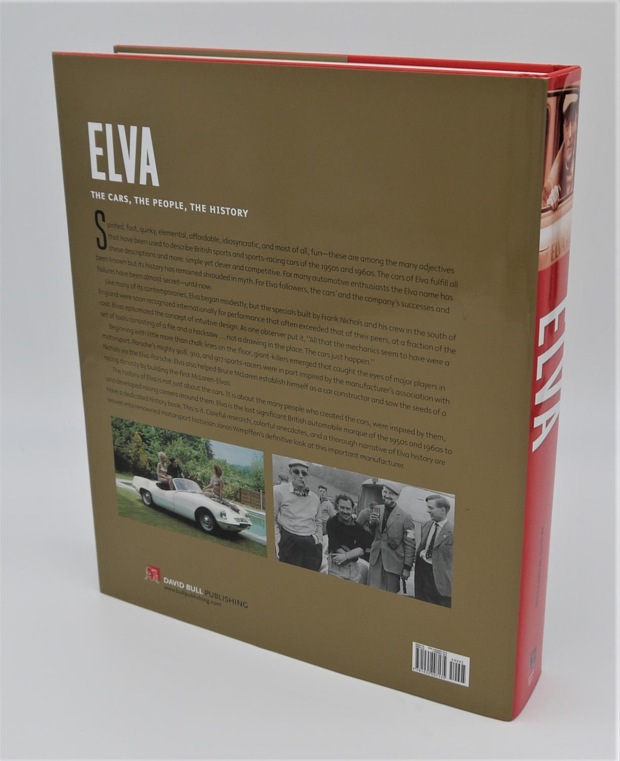 JANOS WIMPFFEN: ELVA foreword by Stirling Moss detailing the history of the cars of Elva and their - Image 2 of 2