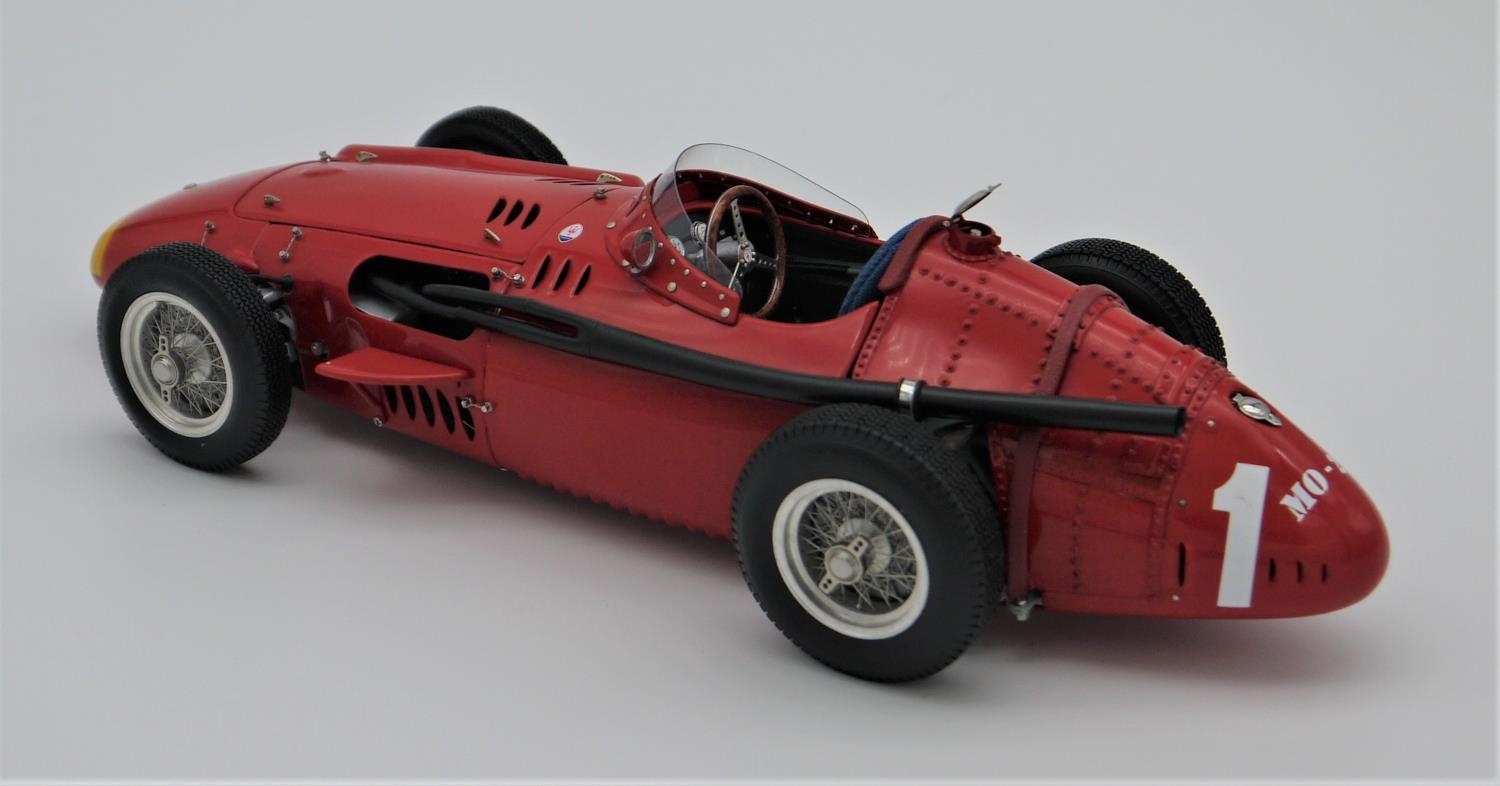 CMC MODELS 1:18 SCALE MODEL OF THE 1957 MASERATI 250 F GRAND PRIX CAR (reference M064) hand- - Image 2 of 2