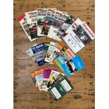 LARGE COLLECTION OF SILVERSTONE RACE PROGRAMS c.100 examples of programs from the late 1940s to