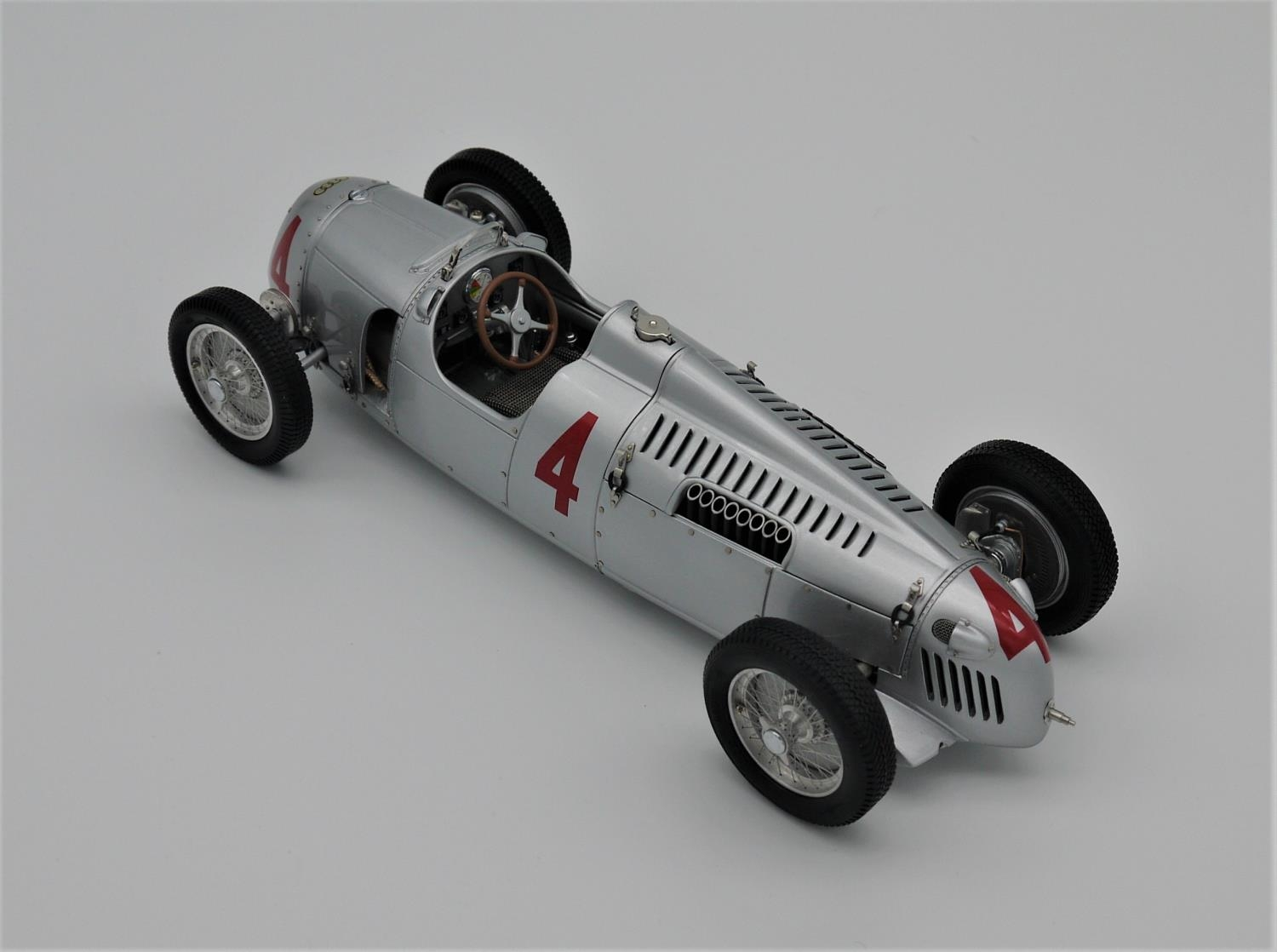 CMC MODELS 1:18 SCALE MODEL OF THE 1936 AUTO UNION TYP C NUMBER 4 (reference M073) as driven to - Image 2 of 2