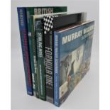 A SELECTION OF BOOKS ABOUT BRITAINS RACING GREATS PHILIP PORTER/MURRAY WALKER: MURRAY WALKER