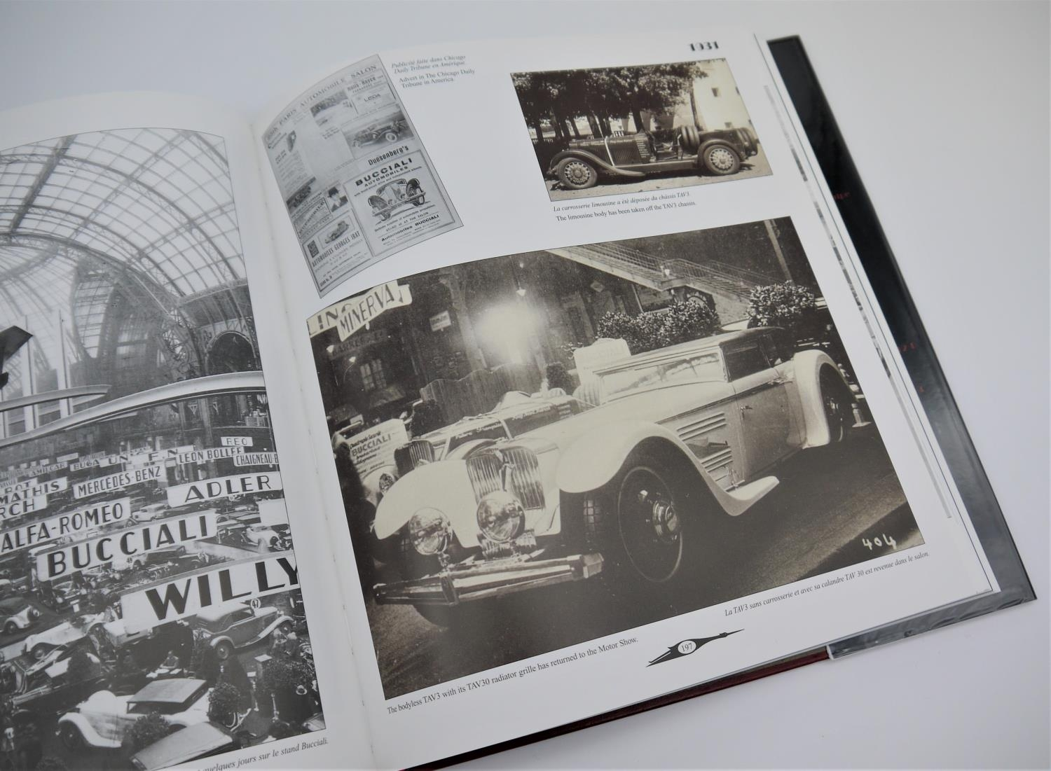 CHRISTIAN HUET: BUCCIALI story of the bucciali brothers who built a few fascinating sports cars in - Image 3 of 3