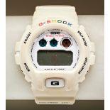 CASIO G-SHOCK DW-6900 WHITE RAINBOW BATHING APE, No.333/2000 Limited Edition quartz watch, with