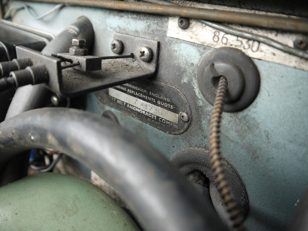 1967 AUSTIN-HEALEY 3000 MARK III Registration Number: LTA 126F Chassis Number: H-BJ8-41730 - Image 16 of 21