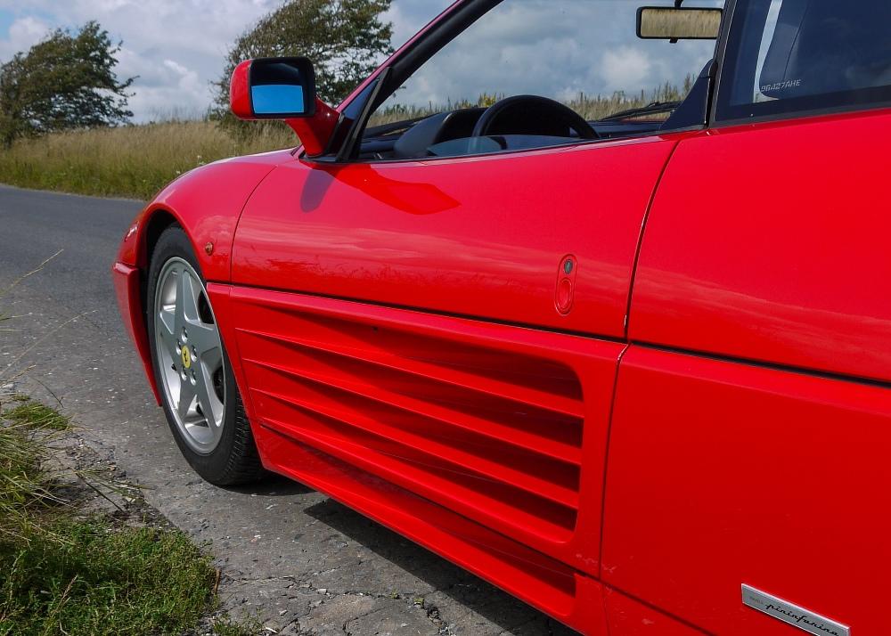 1993 FERRARI 348 TRASVERSALE BERLINETTA Registration Number: L796THC Chassis Number: - Image 14 of 49
