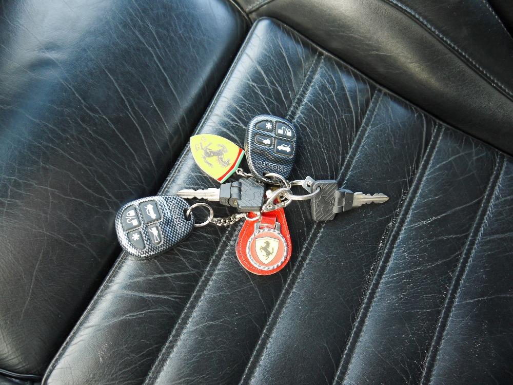 1993 FERRARI 348 TRASVERSALE BERLINETTA Registration Number: L796THC Chassis Number: - Image 44 of 49