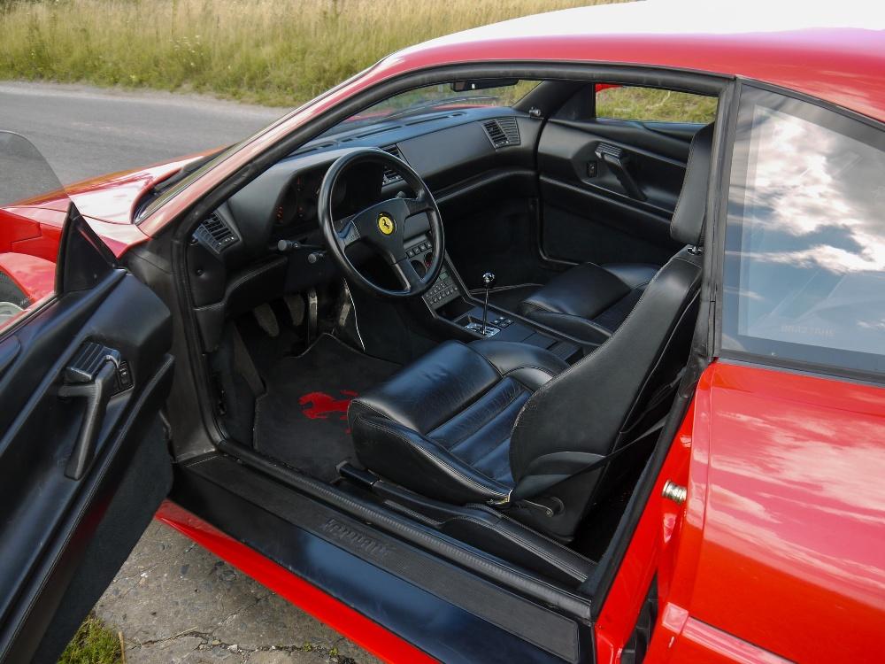 1993 FERRARI 348 TRASVERSALE BERLINETTA Registration Number: L796THC Chassis Number: - Image 22 of 49