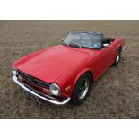 1973 TRIUMPH TR6 Registration Number: FDH 675L Chassis Number: CR18310 Recorded Mileage: TBA 2
