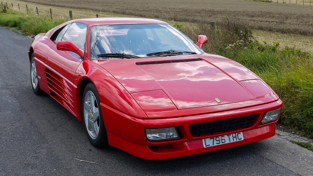 1993 FERRARI 348 TRASVERSALE BERLINETTA Registration Number: L796THC Chassis Number: - Image 8 of 49