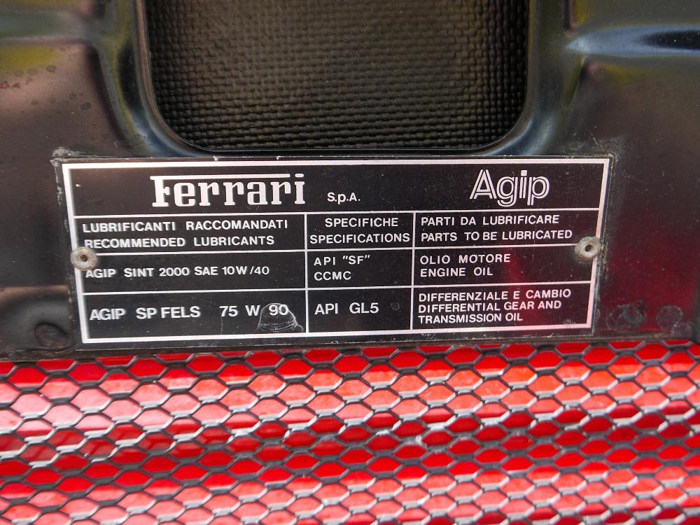 1993 FERRARI 348 TRASVERSALE BERLINETTA Registration Number: L796THC Chassis Number: - Image 36 of 49