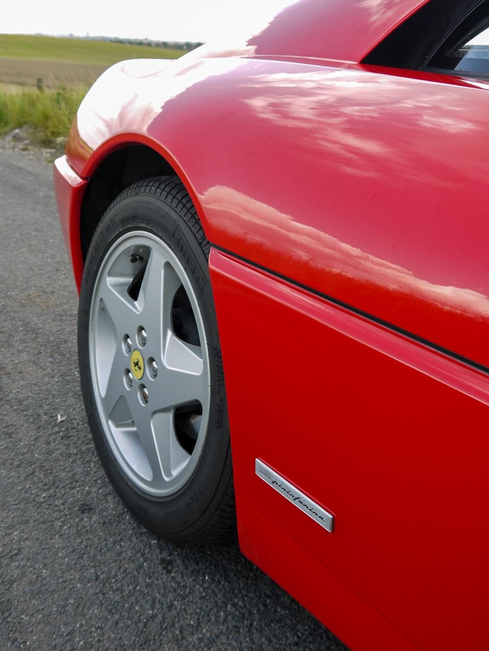 1993 FERRARI 348 TRASVERSALE BERLINETTA Registration Number: L796THC Chassis Number: - Image 17 of 49