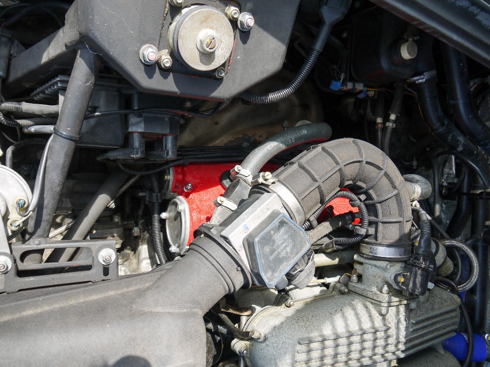 1993 FERRARI 348 TRASVERSALE BERLINETTA Registration Number: L796THC Chassis Number: - Image 35 of 49