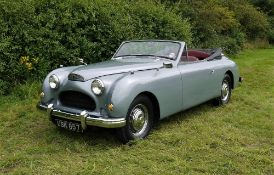 1952 JENSEN INTERCEPTOR CABRIOLET Registration Number: USK 657 Chassis Number: INT 18344Y Recorded