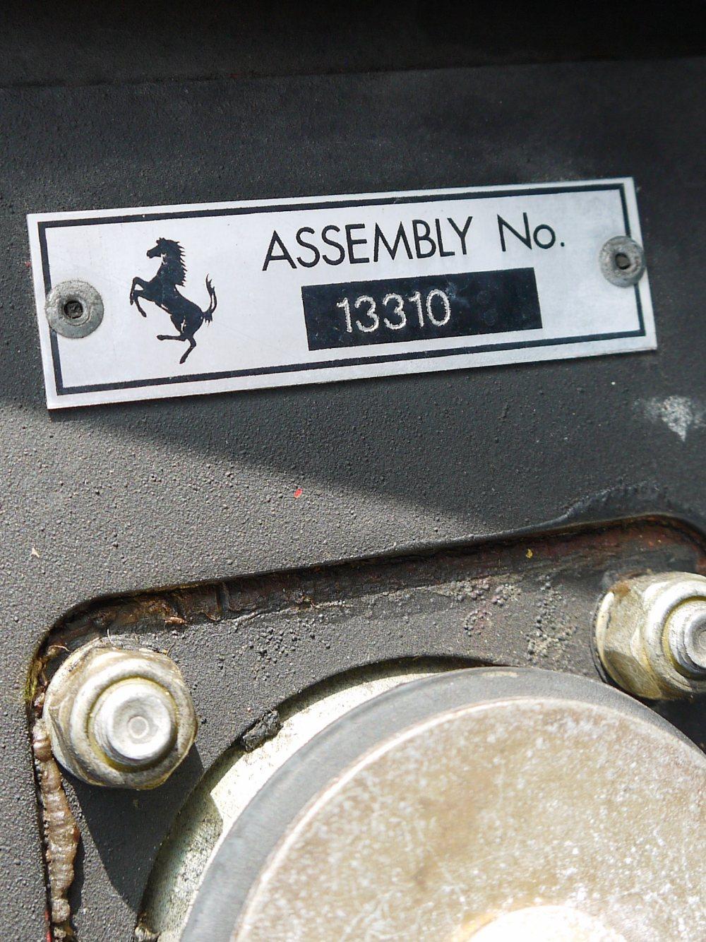 1993 FERRARI 348 TRASVERSALE BERLINETTA Registration Number: L796THC Chassis Number: - Image 43 of 49