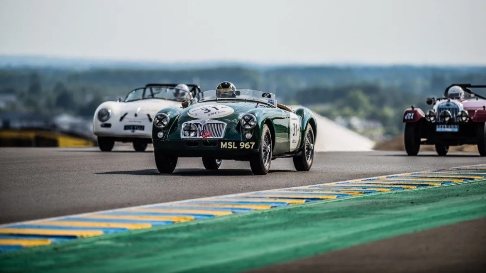 1958 MGA ROADSTER - CLASS WINNER OF LE MANS CLASSIC Registration Number: MSL 967 Chassis Number: - Image 2 of 9